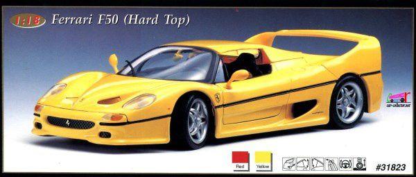ferrari-f50-hard-top-peinture-jaune-maisto