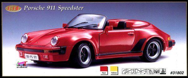 porsche-911-speedster-maisto