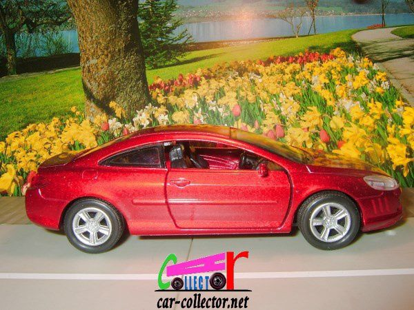 peugeot-407-coupe-2005-peinture-rouge-newray-1-32-reference-52193