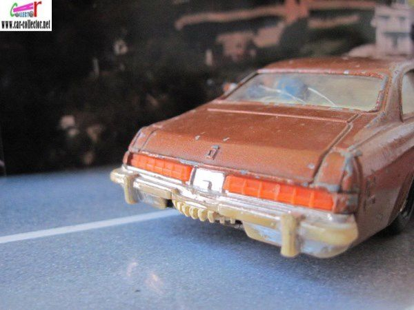BUICK REGAL POLICIER KOJAK TELLY SAVALAS SERIE TV CORGI 1/36