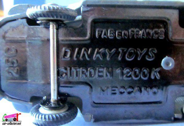 CAMIONNETTE CITROEN 1200 KG TYPE H 1952 DINKY TOYS 1/43