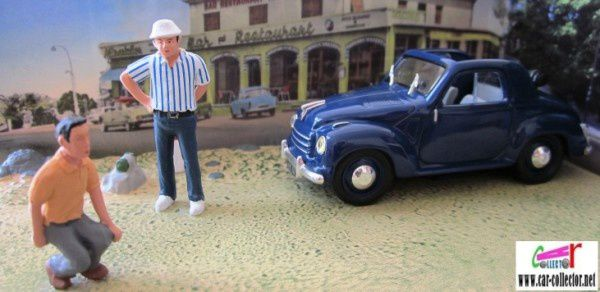 fascicule n 58 diorama fiat 500 topolino la partie de petanque aix en provence car. Black Bedroom Furniture Sets. Home Design Ideas