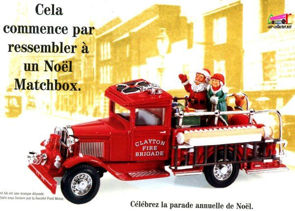 CATALOGUE MATCHBOX NOEL 1997 - CATALOG CHRISTMAS 1997 MATCHBOX