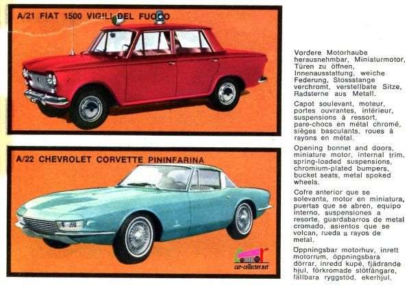 CATALOGUE MEBETOYS 1968 - CATALOGO MEBETOYS 1968 AUTOMODELLI SCALA 1/43