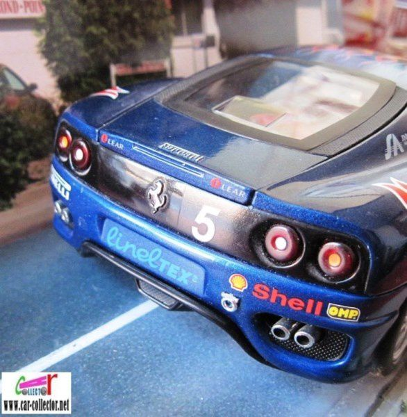 FERRARI 360 MODENA CHALLENGE HOT WHEELS 1/18