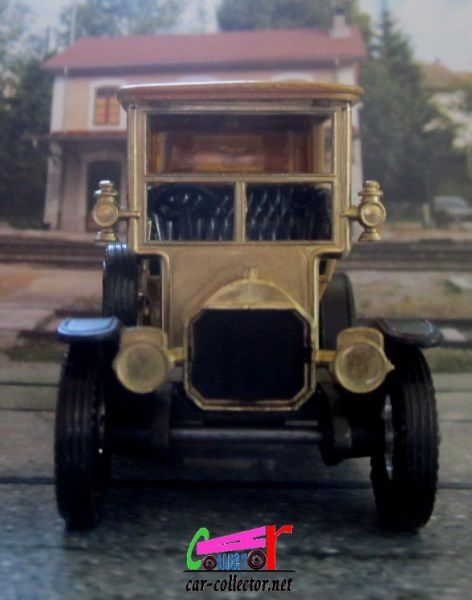 Y5-3 PEUGEOT 1907 YESTERYEAR MATCHBOX 1/43