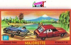 CATALOGUE MAJORETTE MINI DEPLIANT 1972 - CATALOGO MAJORETTE - KATALOG MAJORETTE - CATALOG MAJORETTE