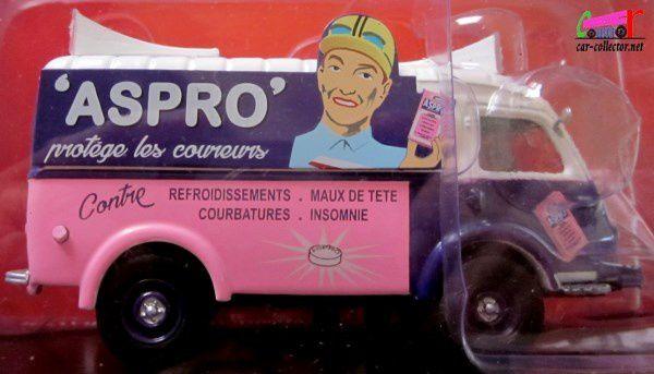 fascicule-58-renault-1000-kg-aspro-courbatures-insomnies-maux-de-tete-protection-coureurs-ixo-vehicules-publicitaires-1-43