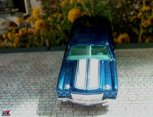 CHEVROLET CHEVELLE SS WAGON 1970 HOT WHEELS 1/64