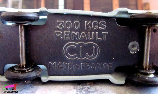 RENAULT DAUPHINOISE 300 KG C.I.J 1/43