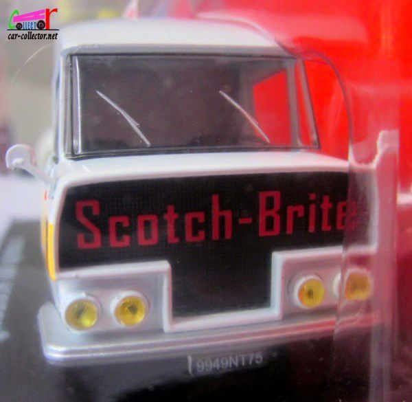 FASCICULE N°64 CITROEN TUB TYPE HY SCOTCH BRITE 3M RUBAN ADHESIF IXO 1/43