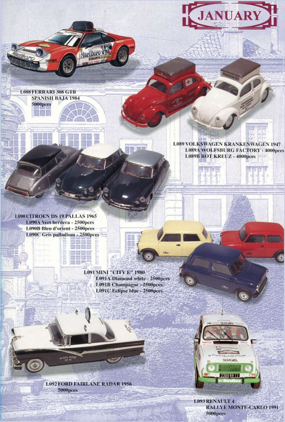 CATALOGUE VITESSE EDITION LIMITEE III 1994