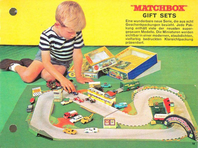 CATALOGUE MATCHBOX 1966 DEUTSCHE KATALOG MATCHBOX 1966.