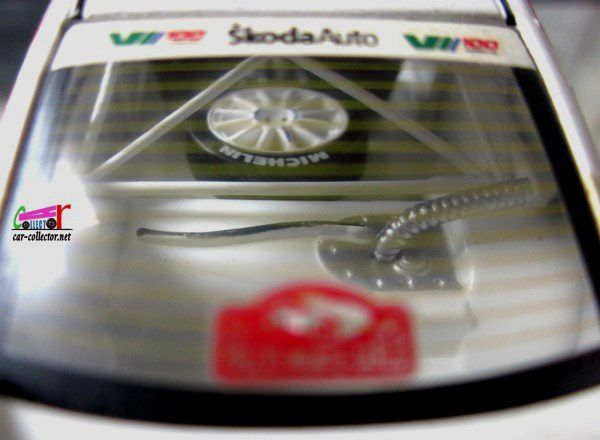 SKODA OCTAVIA WRC MONTE CARLO 2001 IXO 1/43.