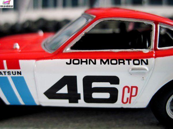 FASCICULE N°9 DATSUN 240Z BRE 1970 JOHN MORTON 1/43 DEL PRADO.