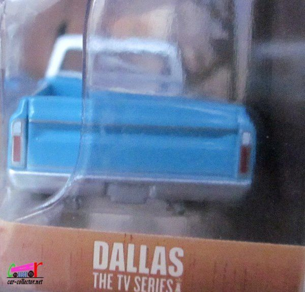 PICKUP CHEVROLET C10 1970 FAMILLE EWING DE LA SERIE TV DALLAS.