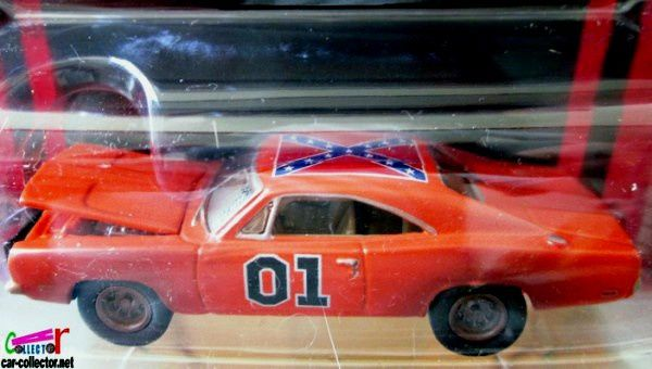 1969 DODGE CHARGER GENERAL LEE JOHNNY LIGHTNING 1/64 THE DUKES OF HAZZARD.