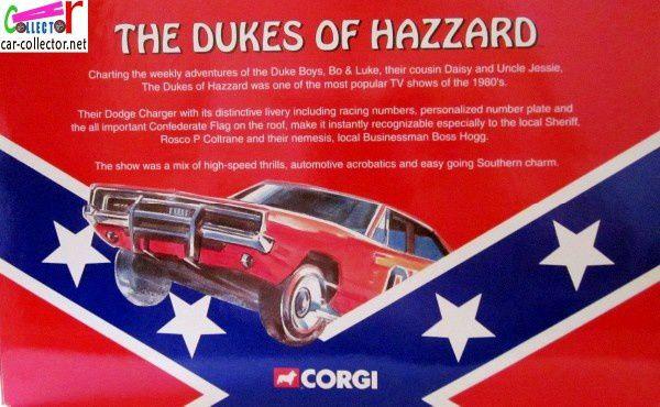 DODGE CHARGER GENERAL LEE SHERIFF FAIS MOI PEUR CORGI 1/36.