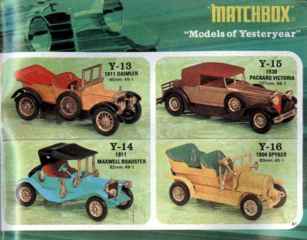 catalogue-matchbox-1971-allemagne-page-61-daimler-1911-packard-victoria-1930-maxwell-roadster-1911-spyker-1904