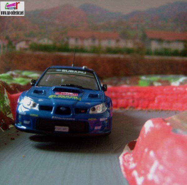 FASCICULE N°96 SUBARU IMPREZA WRC 2008 MONTE CARLO IXO 1/43.