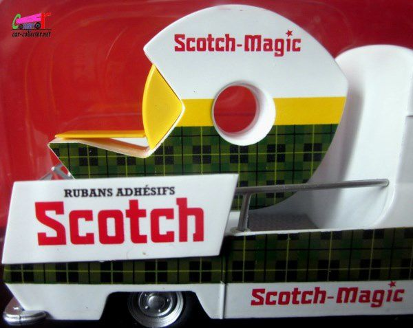 FASCICULE N°70 CITROEN TUB TYPE HY RUBAN ADHESIF SCOTCH MAGIC 3M IXO 1/43.