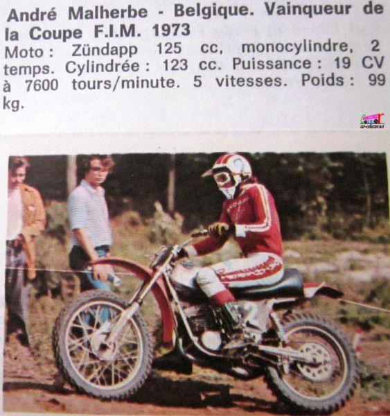 vignette-autocollante-panini-motos-en-action-andre-malherbe-zundapp-125-vainqueur-de-la-coupe-fim-1973