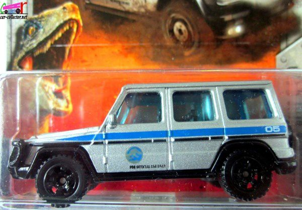 MERCEDES G 550 2014 JURASSIC WORLD MATCHBOX 1/64.