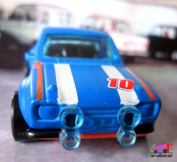 70' FORD ESCORT RS 1600 HOT WHEELS 1/64.