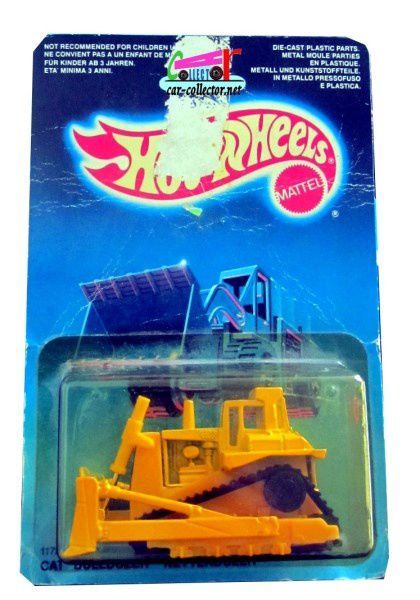 cat-bulldozer-kettendozer-workhorses-series-hot-wheels-1986-item-1172