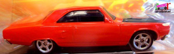 PLYMOUTH ROADRUNNER 1970 FAST AND FURIOUS 7 MATTEL 1/55.