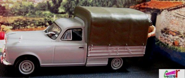 fascicule n 61 diorama peugeot 403 pickup bache la route. Black Bedroom Furniture Sets. Home Design Ideas