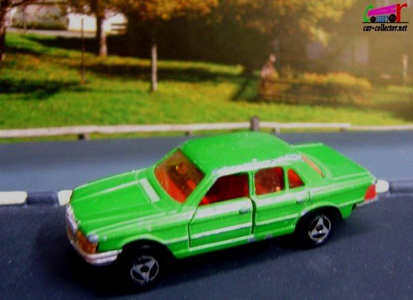 mercedes-450-se-green-majorette-reference-249-made-in-france