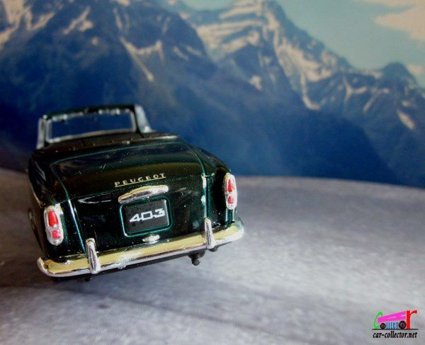 PEUGEOT 403 CABRIOLET 1957 WELLY 1/38.