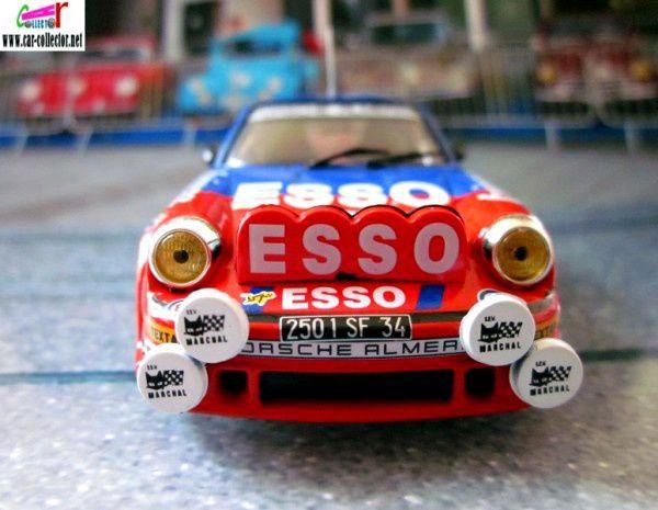 FASCICULE N°2 PORSCHE 911 SC 1982 MONTE CARLO GUY FREQUELIN JEAN FRANCOIS FAUCHILLE.