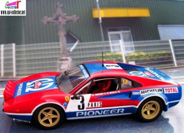 FASCICULE N°11 FERRARI 308 GTB M. CARLO JC ANDRUET BICHE MICHELE ESPINOSI PETIT.