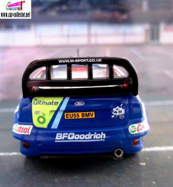 FASCICULE N°22 FORD FOCUS RS WRC 2006 MONTE CARLO GRONHOLM - RAUTIAINEN IXO 1/43.
