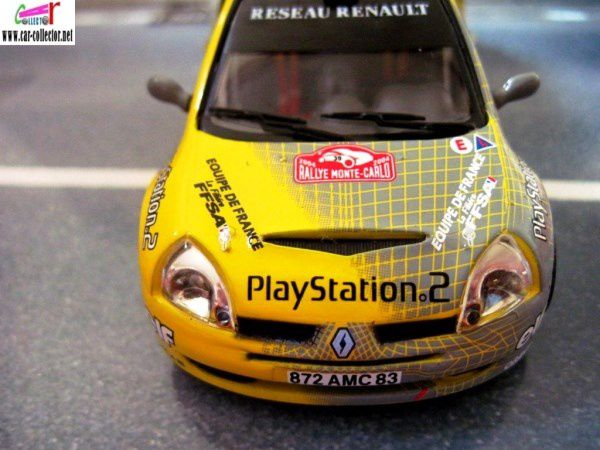 FASCICULE N°42 RENAULT CLIO JWRC S1600 RALLYE MONTE CARLO 2004 IXO 1/43.