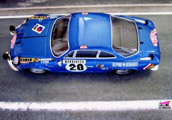 FASCICULE N°48 RENAULT ALPINE A110 RALLYE MONTE CARLO 1971 IXO 1/43.