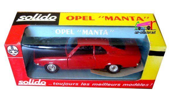 OPEL MANTA 1900 SR COUPE SOLIDO 1/43