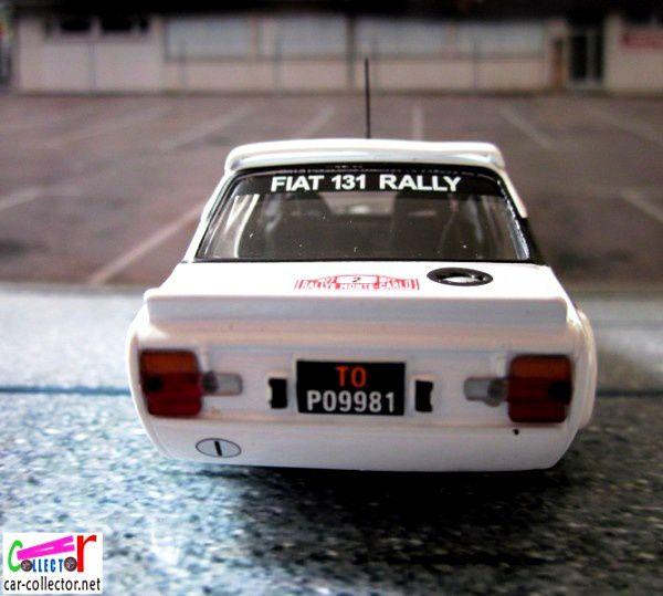 FASCICULE N°68 FIAT 131 ABARTH 1977 - IXO 1/43.