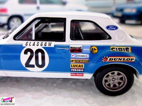 FASCICULE N°75 FORD ESCORT RS 1600 1973 MONTE CARLO - IXO 1/43.