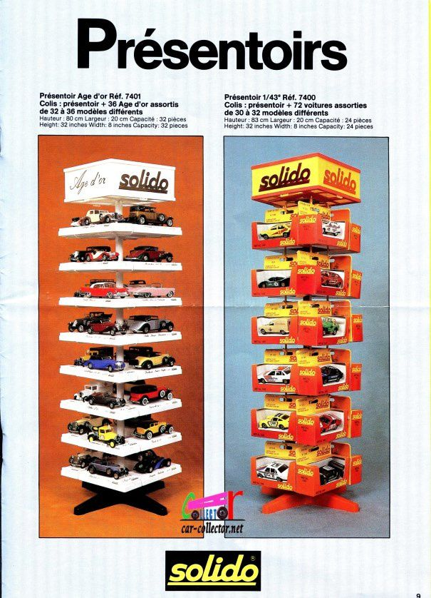 CATALOGUE SOLIDO 1985