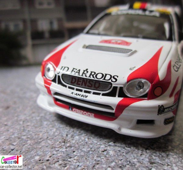 FASCICULE N°85 TOYOTA COROLLA WRC 2000 MONTE CARLO - IXO 1/43.