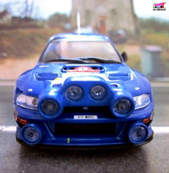 FASCICULE N°79 SUBARU IMPREZA WRC 1998 RALLYE MONTE CARLO - IXO 1/43.
