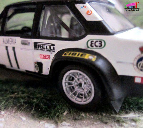 FASCICULE N°88 FIAT 131 MIRAFIORI ABARTH 1978 MONTE CARLO IXO 1/43.