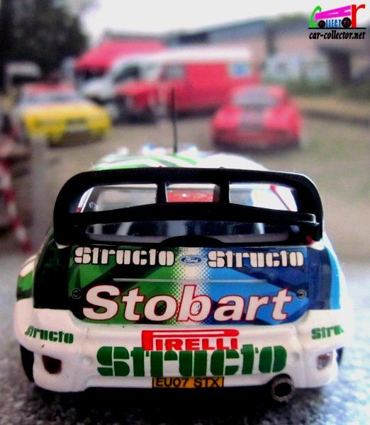 FASCICULE N°91 FORD FOCUS RS COSWORTH WRC MONTE CARLO 2008 - IXO 1/43.