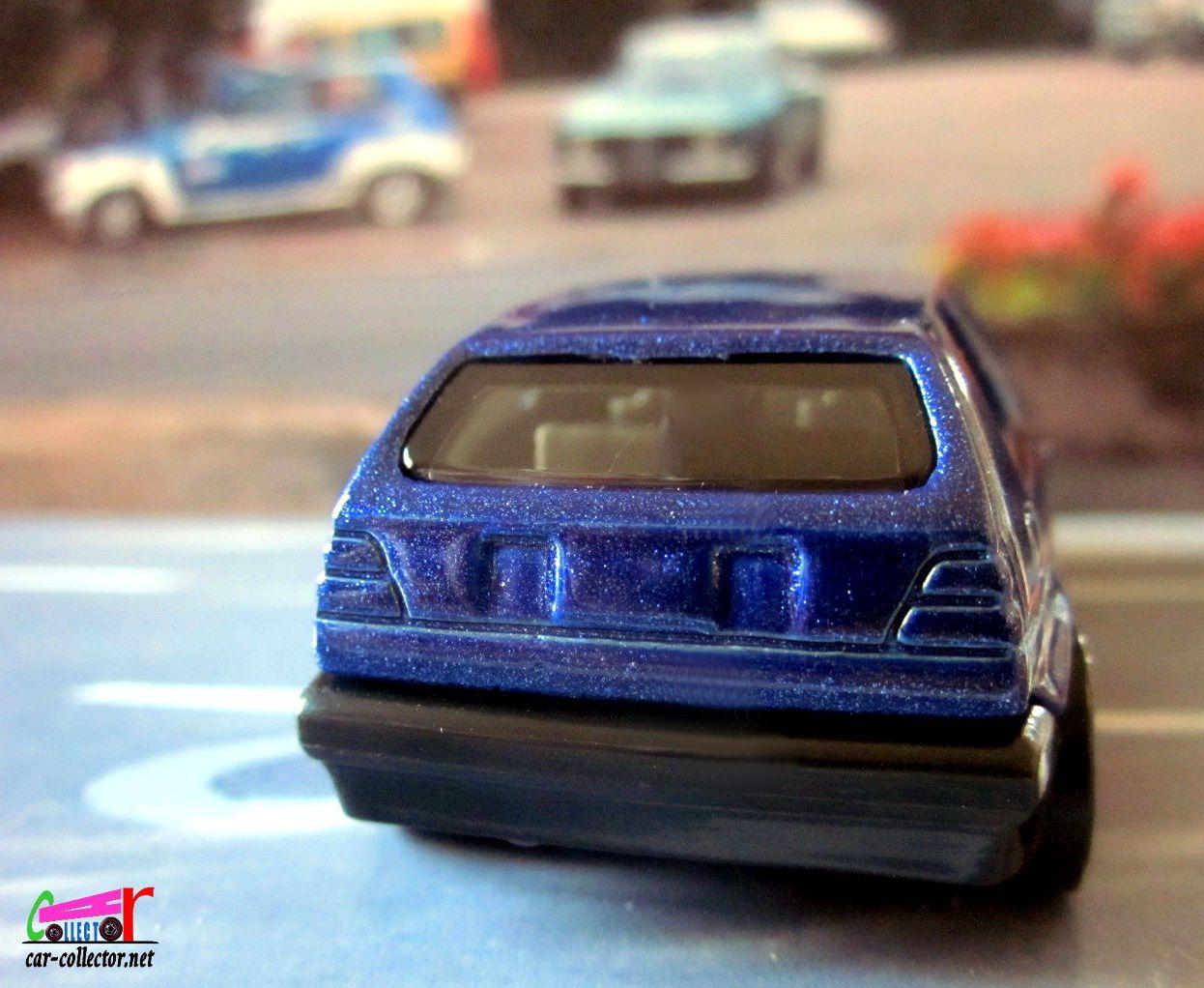 VW GOLF MK2 HOT WHEELS 1/64 - VOLKSWAGEN GOLF MK2.