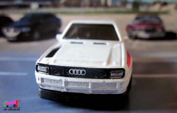 84 AUDI SPORT QUATTRO HOT WHEELS 1/64.