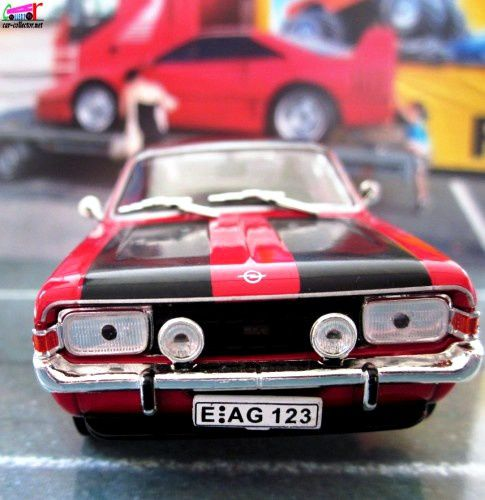 OPEL COMMODORE A COUPE GS/E 1970 1/43 IXO.