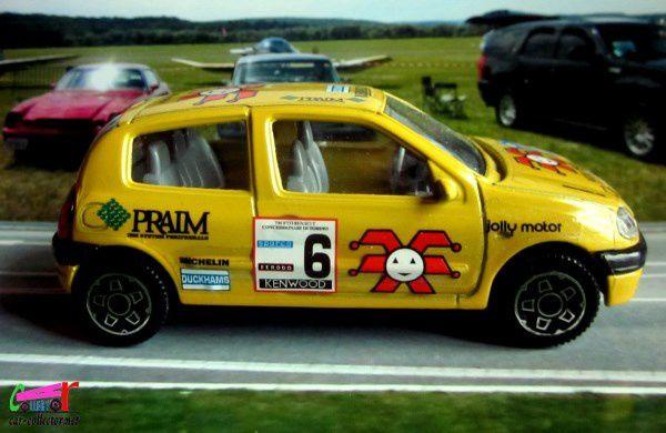 renault-clio-2-cup-1998-burago-1-43-praim-kenwood-jolly-motor